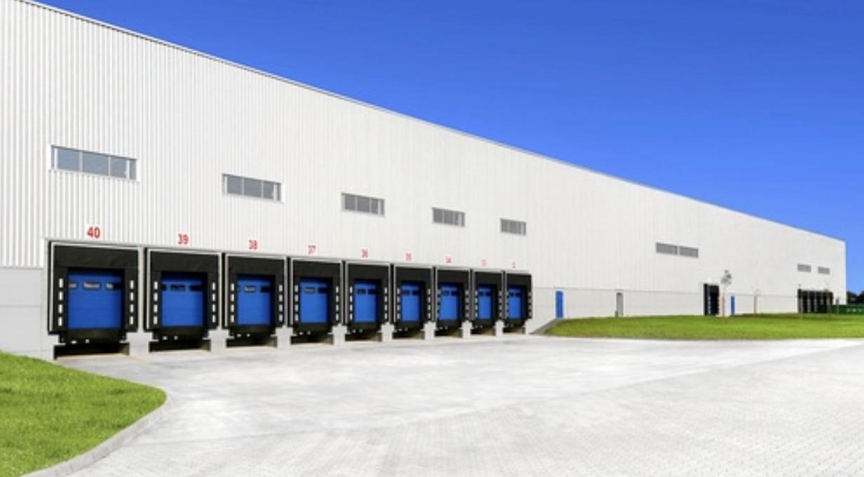 Distribution Center Louvers